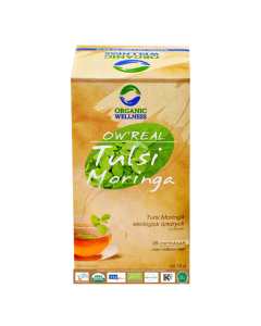 Organic Wellness Real Tulsi Moringa Tea 25 tea bag