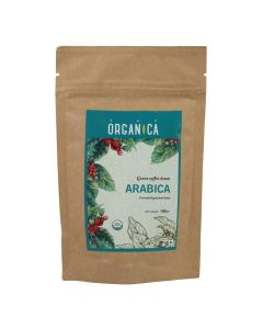 Organica Arabica Green Coffee Beans 100 g
