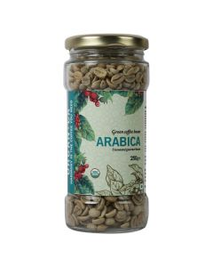 Organica Arabica Green Coffee Beans 250 g