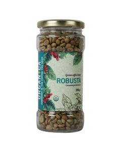 Organica Robusta Green Coffee Beans 250 g