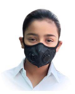 OXIGEN+ Reusable Anti Pollution Mask With N99 Active Carbon Grade Filter -Small