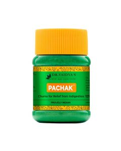 Dr. Vaidya's Pachak Churna - Ayurvedic Churna for Indigestion & Flatulence - Pack of 2