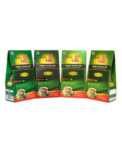 All in One Herbal Masala Tea Sugarfree Cardamom Pack of 4