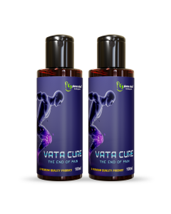 Pharma Science Vata Cure Joint pain relief oil for joint, back, knee, shoulder, Elbow, Ankle, and muscular pains Relief oil (100% Premium, Natural & Pure)