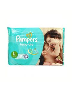 Pampers Baby Dry Diapers Large 5pcs