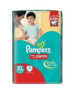 Pampers Dry Pants - XL 7pcs Pouch