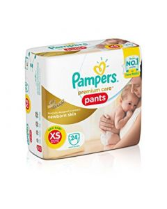 Pampers Pamper Premium Care Pants Diapers New Baby XS 24pcs