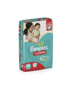 Pampers Pants - Diapers Medium Size 56pcs Pouch