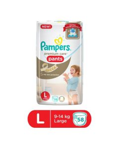 Pampers Pants Diapers Extra Large Size 58pcs