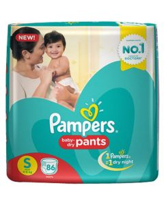 Pampers Pants Diapers Small 86Pcs