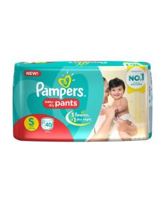 Pampers Pants Diapers Small Size 40pcs Pouch