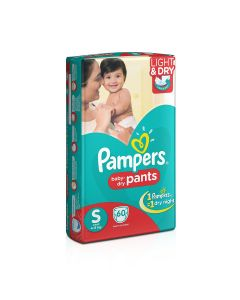 Pampers Pants Diapers Small Size 60pcs