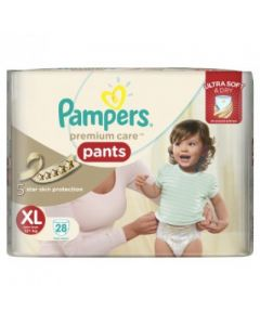 Pampers Premium Care Pants - Diapers Xtra Large Size 28pcs
