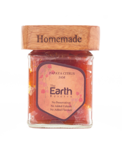 The Earth Reserve All Natural Papaya Citrus Jam - 300 gm