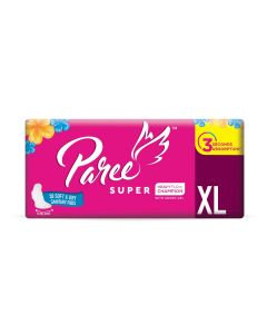 Paree Super Soft & Dry Feel 40 XL Sanitary Pads For Quick Absorb