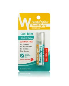 Pearlie White BreathSpray Alcohol Free Cool Mint 8.5ml (100 sprays)