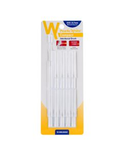 Pearlie White Compact Interdental Brush XXS 0.7mm Pack Of 10s