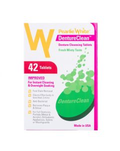 Pearlie White DentureClean Denture Cleansing Tablets