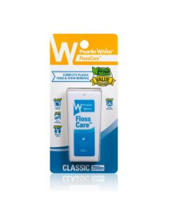 Pearlie White Flosscare Waxed Mint Floss 200m