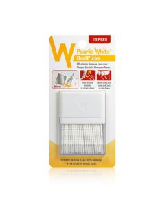 Pearlie White OralPicks 110 Toothpicks in a Slim Case with Mirror