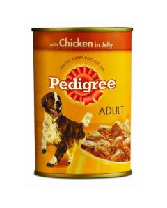 Pedigree Can Chicken in Jelly 400gm