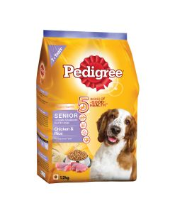 Pedigree Daily Food for Adult Dogs - Senior 1.2kg
