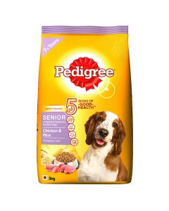 Pedigree Daily Food for Adult Dogs - Senior 3kg