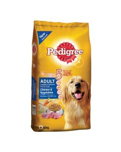 Pedigree Daily Food for Adult Dogs Chicken and Vegetables 10kg