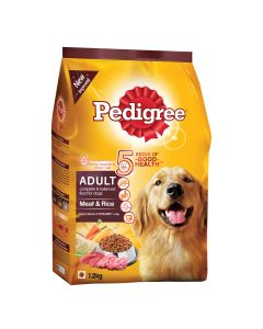 Pedigree Daily Food for Adult Dogs Meat and Rice 1.2kg