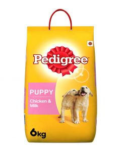 Pedigree Daily Food For Puppy - Chicken & Milk 6kg Pouch