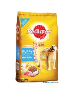 Pedigree Daily Food for Puppy - Meat & Milk 20kg