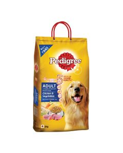 Pedigree Dry Dog Food for Adult - Chicken & Vegetables 6kg