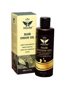 PEECURE Hair Onion Oil for Hair Growth and Hair Teatment 200ml