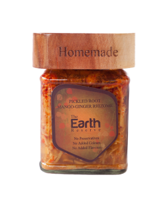 The Earth Reserve All Natural Pickled Root Mango Ginger Rhizome - 250 gm