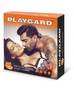 PLAYGARD MORE PLAY SUPERDOTTED ORANGE 3'S