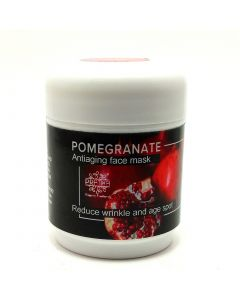 Pratha Naturals Pomegranate - Anti-Ageing Face Mask - Reduce wrinkle, fine line and age spot 50gm
