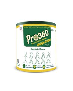 Pro360 Weight Gainer Nutritional Beverage Mix - Chocolate Flavour 250gm