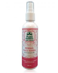 Pure Herbal Face Toner (Dry and combination skin) 100ml