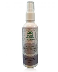 Pure Herbal Herbal Face Toner ( Oily and combination skin) 100ml