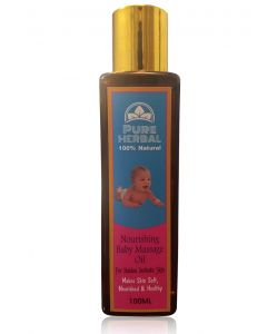 Pure Herbal Nourishing Baby Massage Oil 100ml