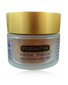 Pure Herbal Purnatva Face Pack ( Oily and combination skin) 75ml