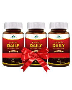 Quality Ayurveda Paurush Daily - 60 Caps (Pack of 2)
