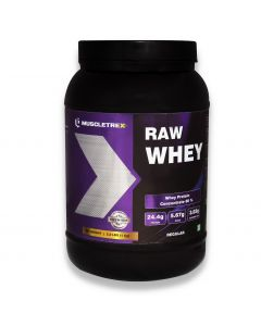 Muscletrex Raw Whey Protein, Regular - 1KG (2.2 lbs)
