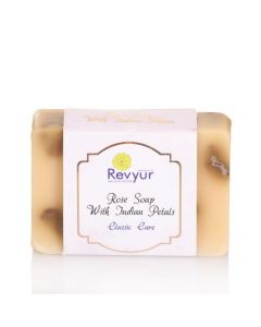 Revyur Rose Soap With Indian Petals