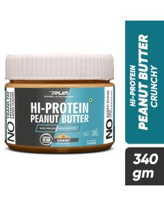 Ripped Up Nutrition Hi-Protein Peanut Butter Crunchy 340g