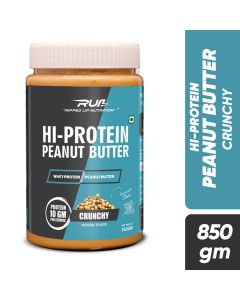 Ripped Up Nutrition Hi-Protein Peanut Butter Crunchy 850g