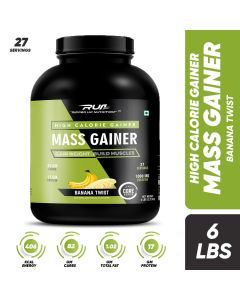 Ripped Up Nutrition Mass Gainer Banana Twist 6lbs(2.72kg)