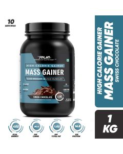 Ripped Up Nutrition Mass Gainer Swiss Chocolate 2.2lbs(1kg)