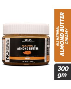 Ripped Up Nutrition Natural Almond Butter Creamy 300g