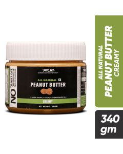 Ripped Up Nutrition Natural Peanut Butter Creamy 340g
